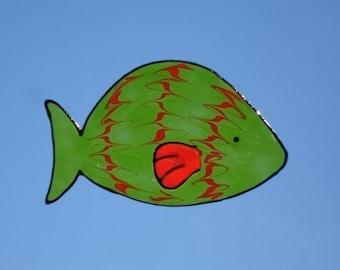 SALE SALE SALE- Fish- Family Window Art