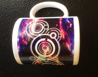 Your Name in Gallifreyan Personalised Dr Who Mug