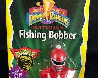 Power Rangers red fishing bobber
