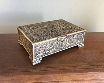 Antique jewelry box Etsy