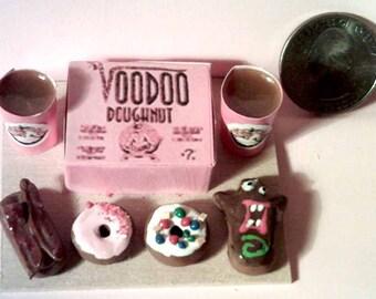 Barbie Sized Voodoo Donuts Menu Board