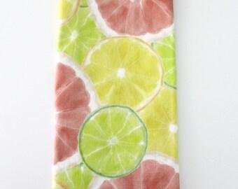 Watercolor Citrus Tea Towel