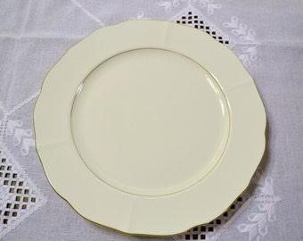 Mikasa Majestic Gold Round Platter Chop Plate CAP01 White Replacement Japan PanchosPorch