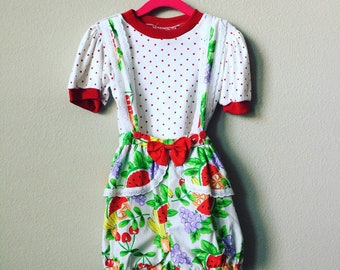 vintage bubble romper