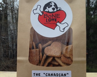 """Maple & Bacon """"The Canadian"""" Natural Dog Treats 400g"""
