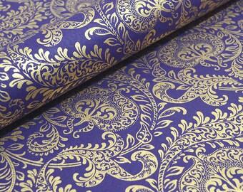 Handmade Decorative Indian Paper - Purple Splendour