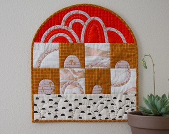Quilted Wall Hanging No. 4