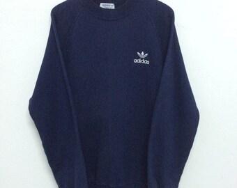 0420933b0413 Vintage Adidas Sweatshirt  Adidas T Shirt   Adidas Jacket   Adidas Sweater    Adidas Hoodie   Run DMC   Adidas Big Logo   Hip Hop