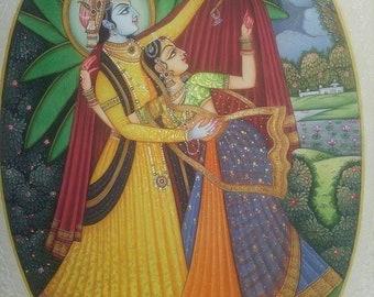 Raas Painting.