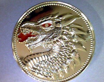 Fire and ice dragon , brass, Game of Thrones