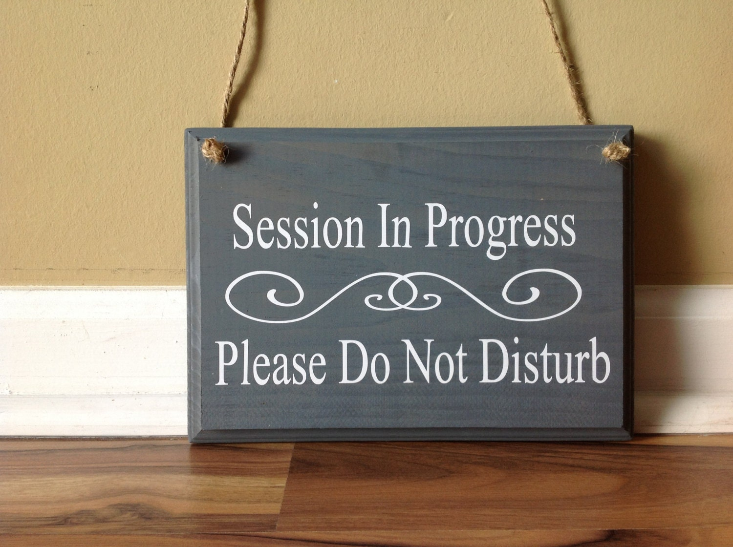 in session door signs