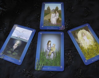 Avalon Oracle 4 Card Awen Spread - Insight Illumination EmAiL rEaDiNg