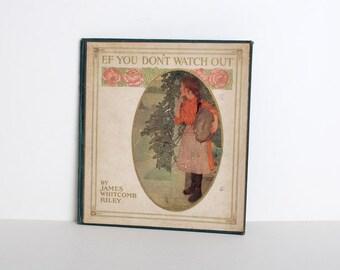Antique Little Orphan Annie children's book