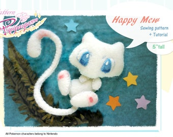 PDF Sewing pattern + instructions - Happy Mew - DIY