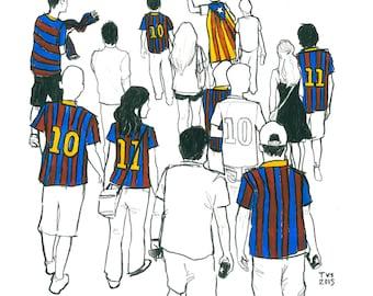 Day 6 Print: FC Barcelona vs Roma, 50th anniversary of the Joan Gamper Trophy