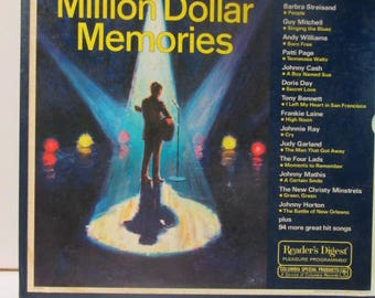 Million Dollar memories 30 years of great hits from the top stars