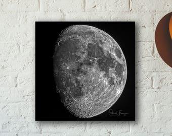Waxing Gibbous Moon Photo Print