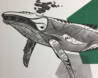 Masked Animalia Print, And He Shall Be Gigantic