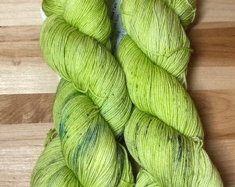 Who You Gonna Call? - Hand Dyed Sock Yarn 75/25 SW Merino/Nylon 463 yds