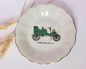 Vintage Cadillac Trinket / Pin Dish, Mid Century, Kitsch Decor, 1950s, Man Cave, Car Ash Tray, Gift For Him, Home Decor, Coin Dish