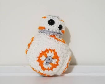Star Wars Inspired BB-8 Crochet Plush