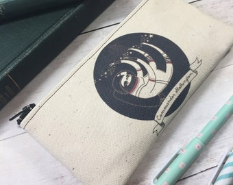 Space Sloth Small Zipper Pouch