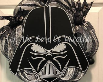 Darth Vader wreath