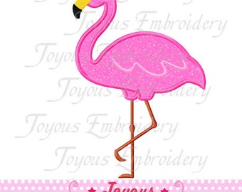Instant Download Flamingo Applique Machine Embroidery Design NO:1509