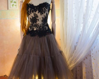 Fairy dress corset and tulle skirt