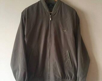 90s Army Green Bomber Jacket