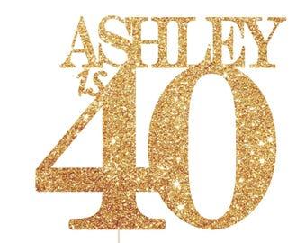 40 year old birthday Etsy
