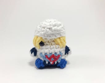 Marionnette à doigt de The Legend of Zelda Sheik au crochet