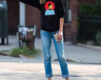 Star Trek Sweatshirt, Star Trek Spock, Graphic Movie Shirt, Star Trek Gift, Star Trek Art, Captain Kirk, Leonard Nimoy