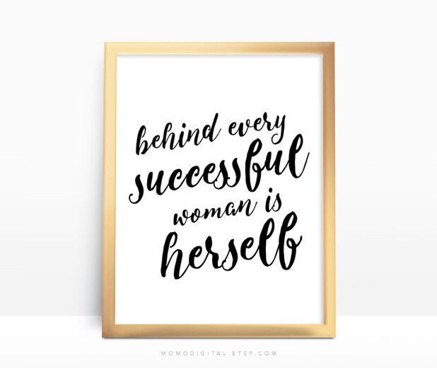 Success Quotes For Women Stunning Sale Behind Every Successful Woman Is Herself Motivational