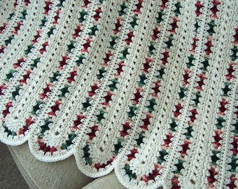 Pattern Only Country Aran Crocheted mile a minute afghan blanket INSTANT DOWNLOAD PDF
