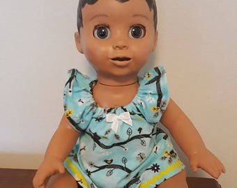 Luvabella Doll Clothes - Birds Nightgown