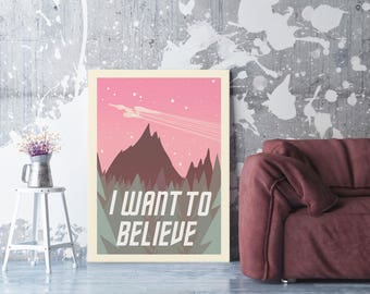 Star Trek - I Want To Believe - Poster
