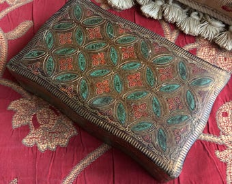 Italian Florentine decorative storage trinket box