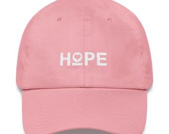 Women's Hope Heart Dad hat