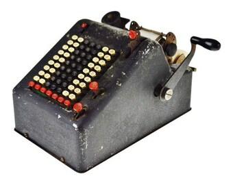 Antique L C Smith & Corona Adding Machine