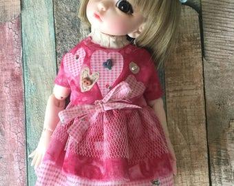 Littlefee YoSD BJD Dress for  26 cm dolls