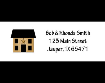 30 Personalized Home Return Address Labels  - Housewarming Party - New Home - We Have Moved Labels - New Address