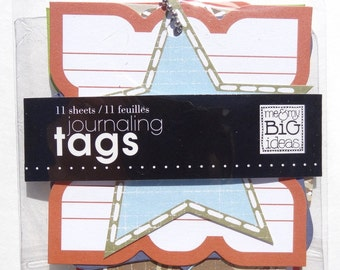 Me and My Big Idea Journaling Tags - Journaling Tags