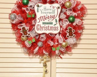 """Have yourself a Merry little Christmas Wreath 12"""""""