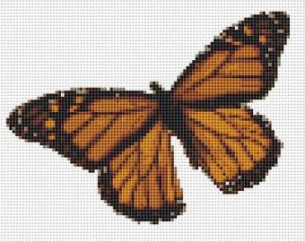 Cross Stitch Pattern, Cross Stitch Patterns, Cross Stitch, Counted Cross Stitch, Cross Stitch Chart, Xstitchpatterns, Cross Stitch Butterfly
