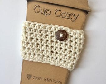 Coffee Cozy / Crochet Coffee Sleeve / Tea Cozy / Coffee Mug Sleeve / Coffee Mug Cozy / Coffee Lover / Mother's Day Gift / Gifts for Women