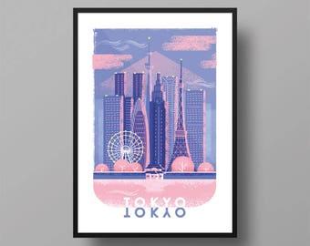 Tokyo   A3 Print