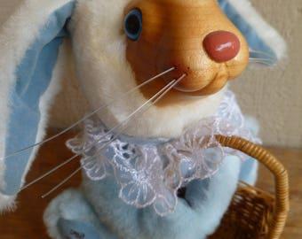 "Vintage Robert Raikes Bunny Rabbit Plush ""Easter Bunny""  Applause"