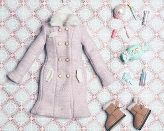 Wool Coat Fits Poppy Parker