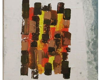 """contemporary abstract painting """"alley"""""""